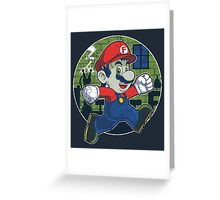 Plumber Franky Greeting Card