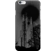 Black Sun Sky Scraper iPhone Case/Skin