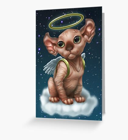 Cataclysm - Elf Kitten (Christmas Edition) Greeting Card