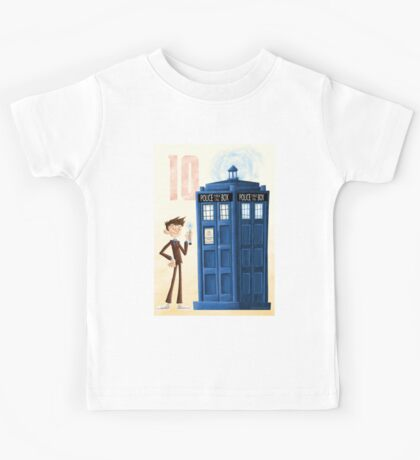 The Tenth Doctor Kids Tee