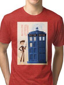 The Tenth Doctor Tri-blend T-Shirt