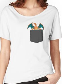 Pokemon - Charizard in pocket Women's Relaxed Fit T-Shirt