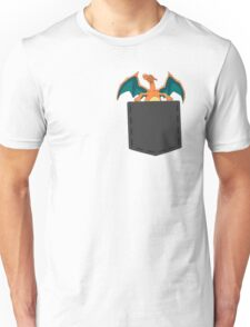 Pokemon - Charizard in pocket Unisex T-Shirt