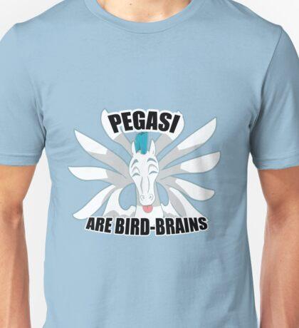 Pegasi are Bird Brains Unisex T-Shirt