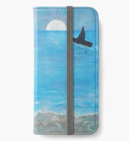 Waikiki Surfers at Sunset iPhone Wallet/Case/Skin