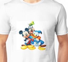 mickey mouse,donal duck Unisex T-Shirt