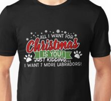 Lab Dog Animal Labrador Lover Christmas Gifts Unisex T-Shirt