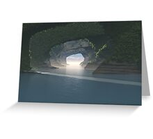 Caves Greeting Card