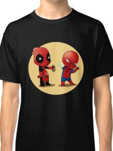 Deadpool & Spider-Man Classic T-Shirt