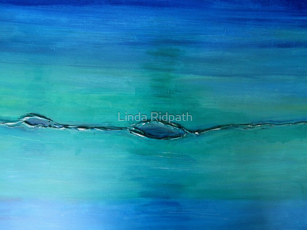 Elemental No 2  Water by Linda Ridpath