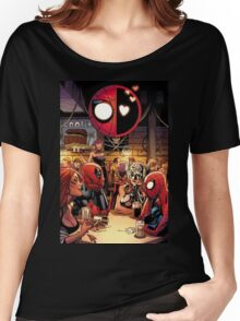 Deadpool & Spider-Man 2 Women's Relaxed Fit T-Shirt