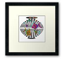 Fishbowl of Holes Framed Print