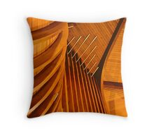 Organ Pipes in St. Paul's church Throw Pillow