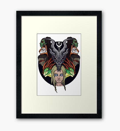 Dragonborn Framed Print