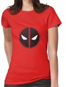 Deadpool Symbol Womens Fitted T-Shirt