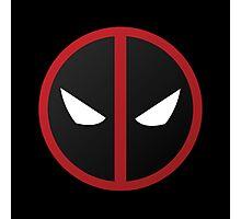 Deadpool Symbol Photographic Print