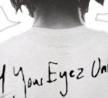 4 Your Eyez Only- J Cole Sticker