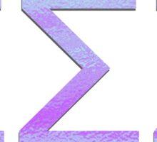 Psycadelic Tri Sigma Sticker