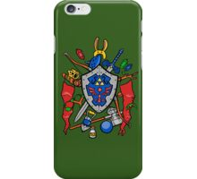 Legend of Items iPhone Case/Skin