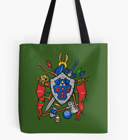 Legend of Items Tote Bag
