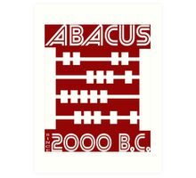 The Abacus  Art Print