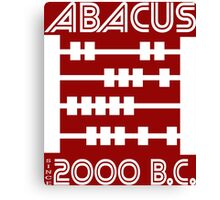 The Abacus  Canvas Print