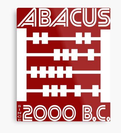 The Abacus  Metal Print