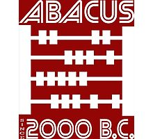 The Abacus  Photographic Print