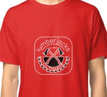 Lumberjacks ultimate frisbee logo - white Classic T-Shirt