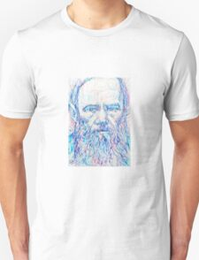 Fyodor Dostoyevsky / colored pens portrait T-Shirt