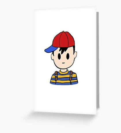Ness from Nintendo's Earthbound! Greeting Card