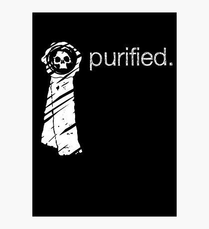 Purity Seal (Dark Backround) Photographic Print