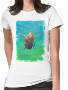 Bumble beard  Womens Fitted T-Shirt