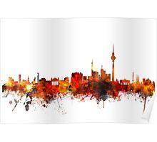 Berlin Germany Skyline Poster