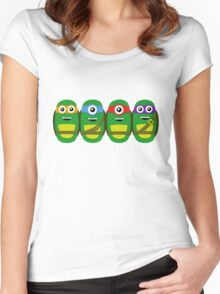 TMNT Minions Women's Fitted Scoop T-Shirt