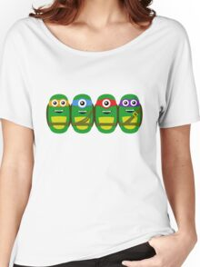 TMNT Minions Women's Relaxed Fit T-Shirt
