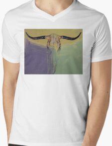 Bull Mens V-Neck T-Shirt
