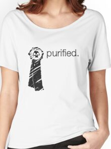 Purity Seal (Light Background) Women's Relaxed Fit T-Shirt