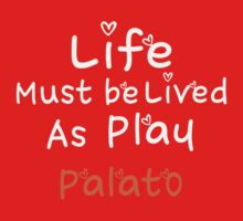 ╚»★Plato's Motivational Quote Clothing & Stickers & Cases & Tote Bags & Home Decor & Stationary★«╝ Kids Clothes