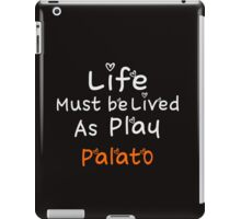 ╚»★Plato's Motivational Quote Clothing & Stickers & Cases & Tote Bags & Home Decor & Stationary★«╝ iPad Case/Skin