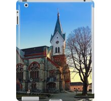 The village church of Aigen III | architectural photography iPad Case/Skin