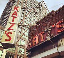 Katz's Deli, Lower East Side, NYC by Lagoldberg28