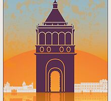 Palermo vintage poster by paulrommer