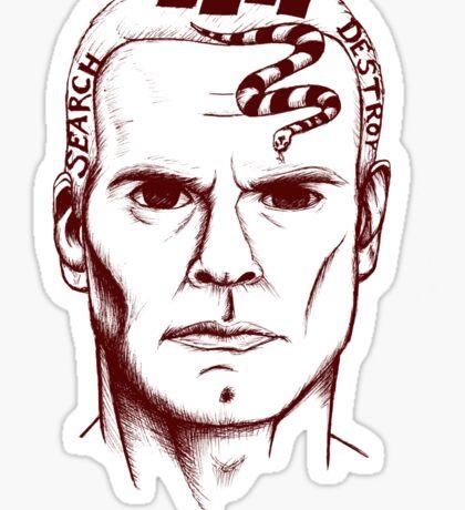 Henry Rollins Sticker