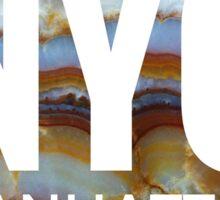 NYC Marble Sticker
