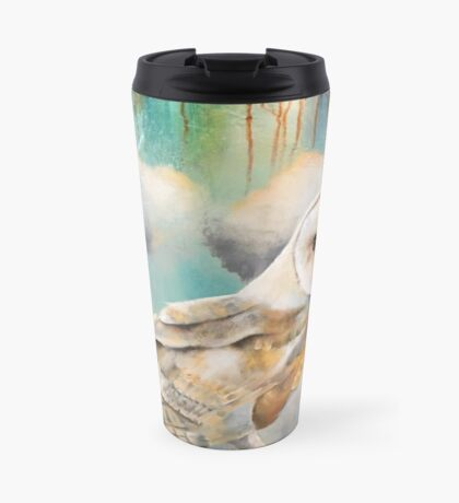 """Presence"" mixed-media oil Travel Mug"