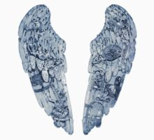 Coldplay Wings 2 One Piece - Short Sleeve