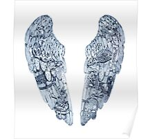 Coldplay Wings 2 Poster