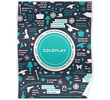Coldplay Album Poster