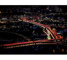 Traffic in the City Photographic Print